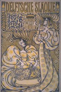 Affiche voor de Delftsche slaolie, 1894, Rijksmuseum Amsterdam