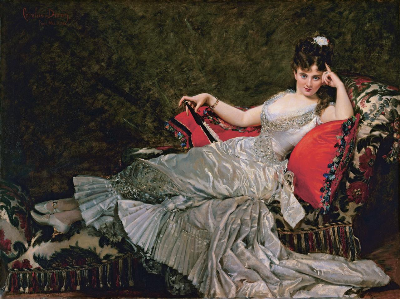 Carolus Dural, portret van Julia Tahl, 1876,Petit Palais,Musée de Beaux-Arts de la Ville de Paris