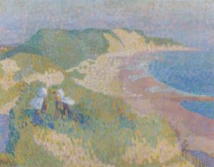 Jan Toorop, Zee en duin bij Zoutelande,1907 LR