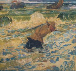 Jan Toorop, de vloed, 1891, particulier bezit LR