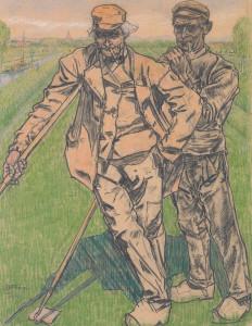 Jan Toorop, landarbeiders,1909, Museum voor Moderne Kunst, Arnhem