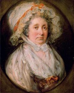 Mrs Thomas Gainsborough, 1785, Gainsborough House, Sudbury c) Gainsborough's House; Supplied by The Public Catalogue Foundation