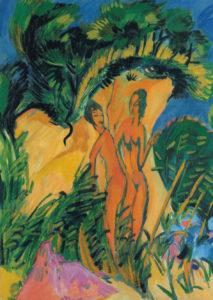 Ernst L. Kirchner_Jonge meisjes op Fehmarn_1913-1920