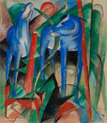 Frans Marc_de schepping van de paarden_1913_fundatie_Zwolle