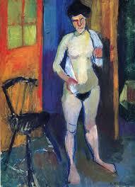 Henri Matisse_Naakt met handdoek_1903