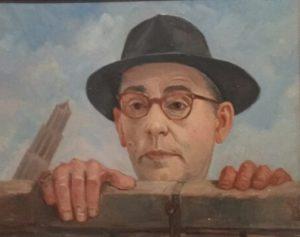 Piet Vermeulen_Schuin_Portret van Jan Engelsman_1961.
