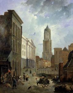 De_stadhuisbrug_in_Utrecht._Reinier_Craeyvanger_1833_Centraal_Museum