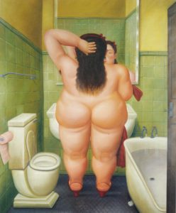 Botero, the Bath, 1989