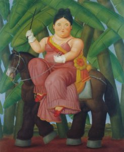 Botero_First Lady_1989