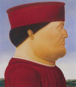 Botero, Frederico de Montefeltro naaar Pierro della Francesca, 1998