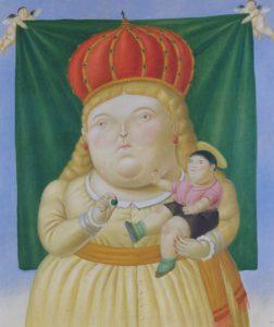 Botero, Onze lieve vrouwe van Colombia, 1992