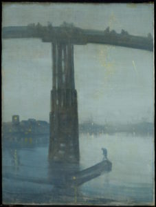 Nocturne: Blue and Gold - Old Battersea Bridge_ Whistler