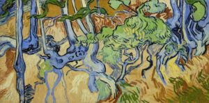 Vincent van Gogh, boomwortels,1890