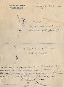 Brief van Felix Rey