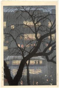 Uehara Konen (1878-1940)_Dotonbori