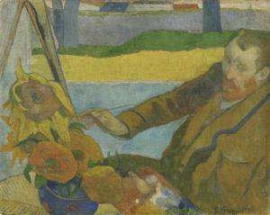 Gauguin_Vincent van Gogh_zonnebloemen
