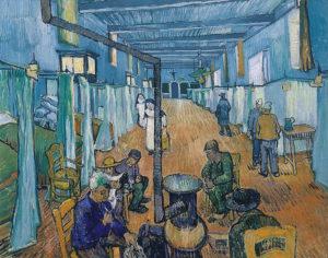 Van Gogh_slaapzaal_1889