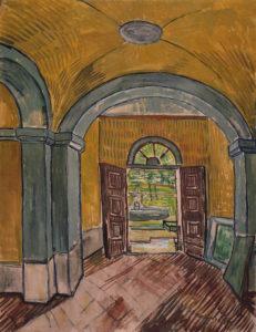 Van Gogh_vestibule _1889