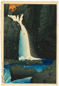 Kawase Hasui (1883-1957)_waterval