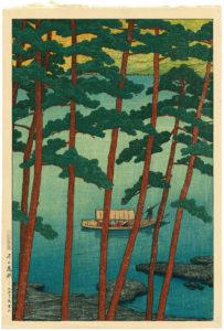 Kawase Hasui (1883-1957)_Winter in Arashi
