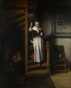 Maes, de luisterende huisvrouw