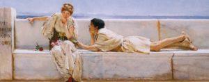 Lawrence Alma-Tadema, een vraag
