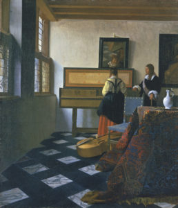 Johannes Vermeer_Muziekles