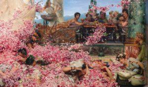 Lawrence Alma Tadema_rozen van Heliogabalus