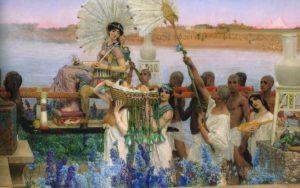 Lawrence Alma-Tadema_mozes gevonden