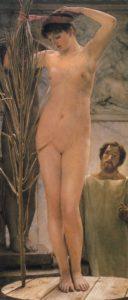 Lawrence Alma-Tadema_model van een beeldhouwer