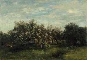 Daubigny, appelbloesem