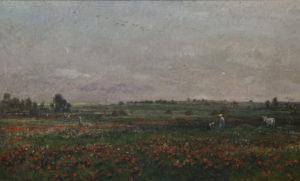 Daubigny, velden, Juni