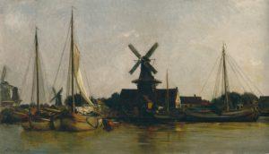 Daubigny, molens, Dordrecht