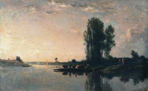 Daubigny, veerboot, Bonnieres
