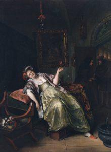 Jan Steen, het Bordeel