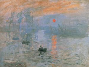 Monet Impression soleil levante
