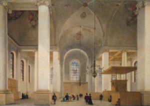 Saenredam, Nieuwe Kerk, 1652