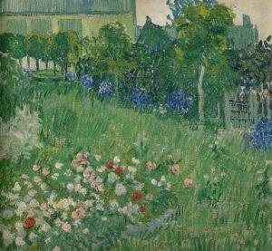 Van Gogh, De tuin van Daubigny,1890, Van Gogh Museum Amsterdam