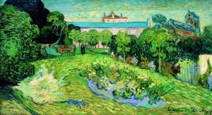 Van Gogh, tuin van Daubigny