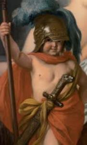 Mercurius,Calypso,Odysseus