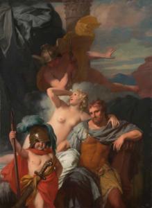 Mercurius, Calypso, Odysseus