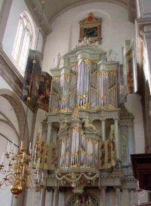 Orgelpanelen westerkerk