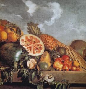 Eckhout_Stilleven met watermeloen