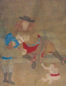 Nederlanders door Chinese schilder