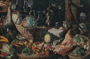 Beuckelaer, keukenscene met Christus en de Emmausgangers