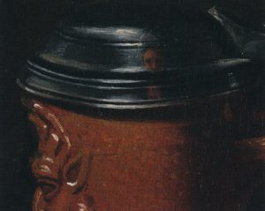 Detail stilleven Clara Peeters