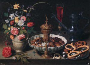 Clara Peeters, stilleven met bloemen
