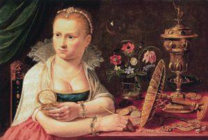 Clara Peeters, zelfportret