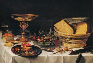 Claesz, stilleven met vruchten