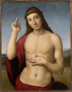 Rafael, Zegenende Christus